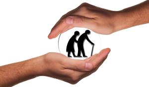 24-Stunden-Pflege Hände schützen